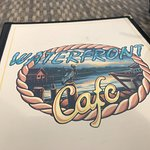 Menu cover - Waterfront Cafe