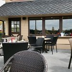 Outdoor patio - Waterfront Cafe