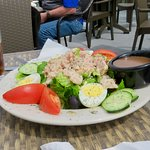 A big tuna salad - Waterfront Cafe