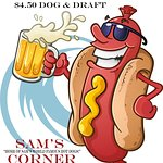 $4.50 Surfer Dogg Deal!! Come in and experience the new Sam's Corner Myrtle Beach with Dog & Dra