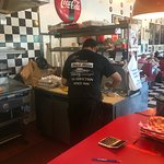 Grill Man preparing order
