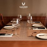 The table is set for you to try our specialities, have you tried Francesinha à Gauleses?