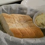 Olive spread and bread