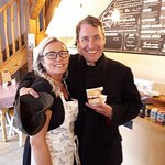 Jules Holland pops in for a piece of delicious victoria sponge.