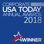 """USA Today awards. """"Best barbecue Restaurant 2018"""""""