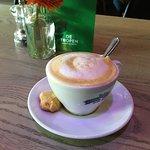 Delicious small cappuccino