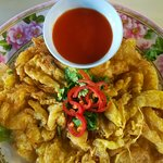 Lung Ja - Thai Omelette with Crab