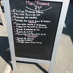 Le menu plaisance