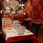 Baby shower in the Restaurant