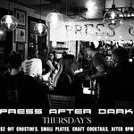 Press after dark