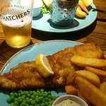 Great fish at the Harbour Inn