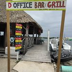 Entrance to D Office Bar & Grill