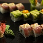 Maguro and Green Dragon rolls