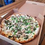 tuna, anchovies pizza