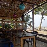 Este era el restaurante del hotel con vista al mar