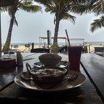 vista al mar desde el restaurante del hotel