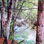 諾日朗瀑布照片