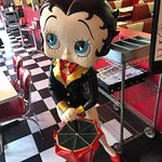Betty Boop was there!