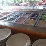 Barra de frutas desayuno buffet