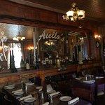 Aiello's dining area. Beautiful.