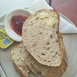 Sourdough toast?? It was just dry not toasted.