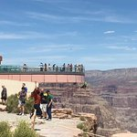 The Skywalk at the west rim of the Grand Canyon