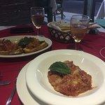 Bruschette e parmigiana