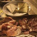 Antipasto misto salumi e formaggi