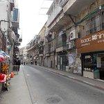 Vista de una de las calles de Mea Shearim