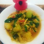 ANZAC special: Courgettes,Chilli,Coconut & spoonful of Maple Syrup
