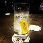 Chin chin - the first taste of Hayman's Gin