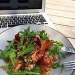 Prawn Zucchini Noodle Salad
