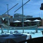 Il ristorante fuori (Foto da cellulare 26.04.18).