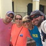 Us with Jenny and Sean, boat captain and dive master. What a great crew!
