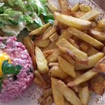 steak tartare frites maison