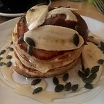 Nutella & banana pancakes; available all day!