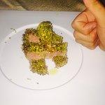 Tagliata di tonno in crosta di pistacchio
