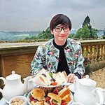 scones with view