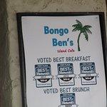 Photo de Bongo Ben's Island Cafe