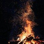 Summer bon fire