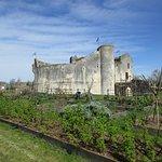 Le château et son beau jardin des simples