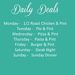 At The Weavers offers daily deals for everyones taste