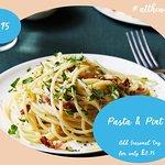 Homemade Pasta & Pint Night