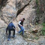 Abdelatif is very skillful and instructed us on where to step...