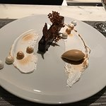 The incredible Sesame praline dessert- light and unforgettable