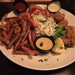 Seafood Combo platter.