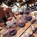 Wines of California wine bar Foto