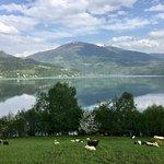 Bild från Radroute um den Millstätter See