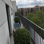 The room with a balcony cost €89 and was a delightful extra. There was some sun on Saturday afte