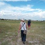 Game walk in Okavango Delta